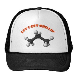 Consigamos el propano del Grillin'- Gorro De Camionero