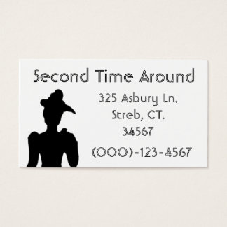 Consignment Business Card Sample1