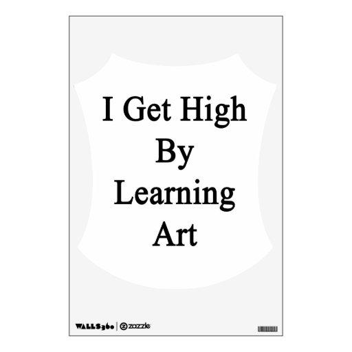 Consigo alto aprendiendo arte