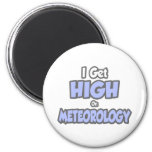 Consigo alto en meteorología imanes