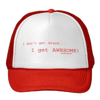 ¡Consigo impresionante! Gorras De Camionero