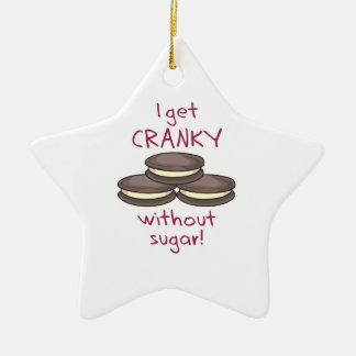 ¡Consigo irritable sin el azúcar! Ornamento Para Reyes Magos