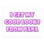 Consigo mis buenas miradas de Nana Postales