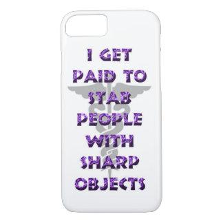 Consigo pagado apuñalar a gente con los objetos funda iPhone 7