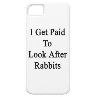 Consigo pagado ocuparme conejos iPhone 5 Case-Mate coberturas