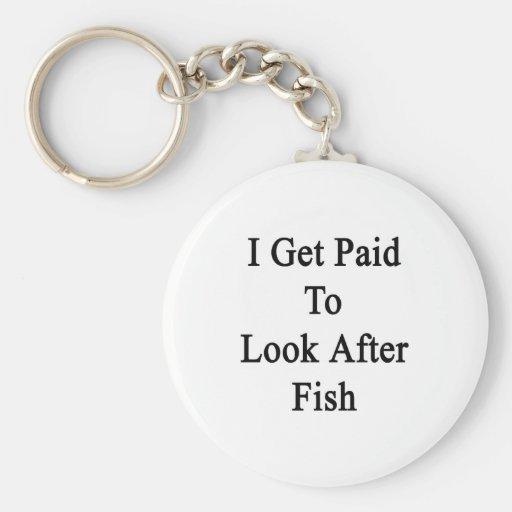 Consigo pagado ocuparme pescados llavero redondo tipo pin