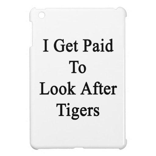 Consigo pagado ocuparme tigres