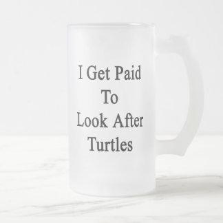Consigo pagado ocuparme tortugas tazas de café