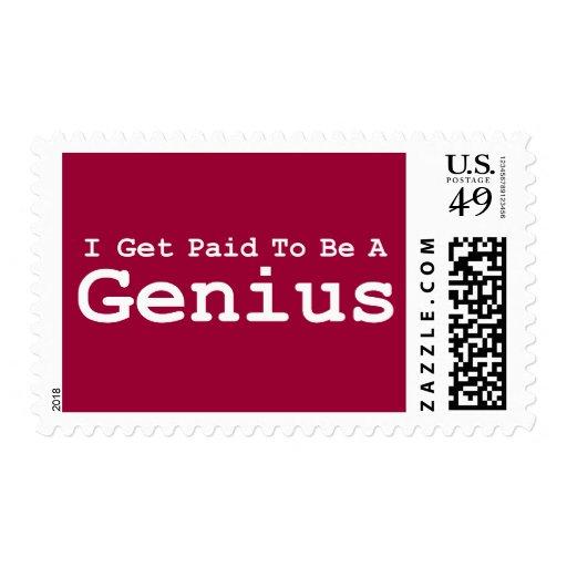 Consigo pagado ser regalos de un genio sellos