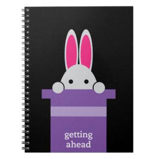 'Consiguiendo Ahead Spiral Notebook