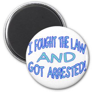 Consiguieron arrestado imán redondo 5 cm
