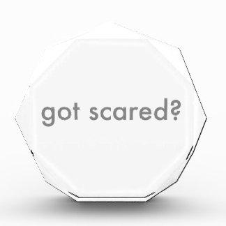 Consiguieron asustado