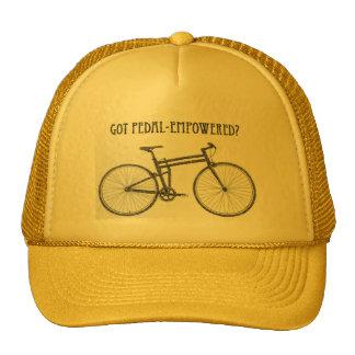 consiguieron pedal-autorizado gorra