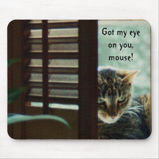 Consiguió a mi ojo en usted Mousepad Tapete De Ratones