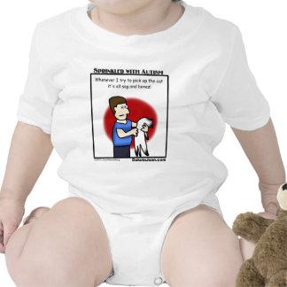 ¿consiguió a un amigo con autismo o un gato o ambo camiseta