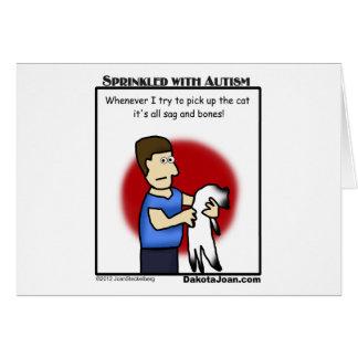 ¿consiguió a un amigo con autismo o un gato o ambo felicitacion
