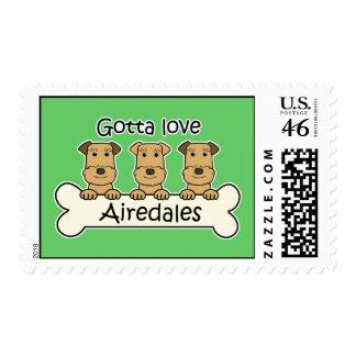 Consiguió amar Airedales