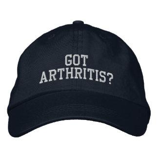 """¿""""Consiguió artritis? """"- Gorra bordado Gorras De Beisbol Bordadas"""