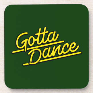 Consiguió bailar en amarillo posavasos