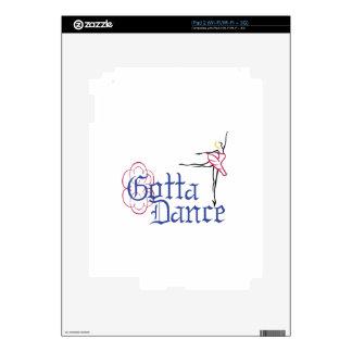 Consiguió bailar iPad 2 skins