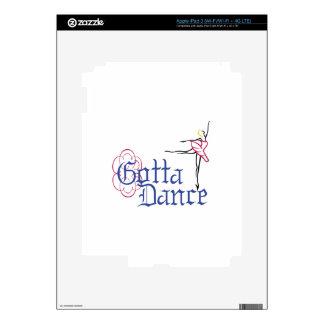 Consiguió bailar iPad 3 pegatinas skins
