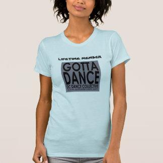Consiguió bailar la camiseta del miembro del curso camisas