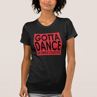 Consiguió bailar la manga casquillo remera
