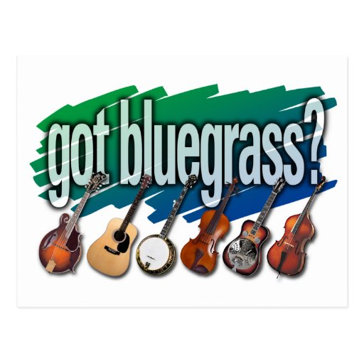 "¿""Consiguió Bluegrass? "" Postales"