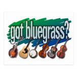 "¿""Consiguió Bluegrass? "" Tarjeta Postal"