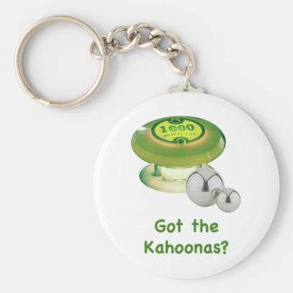 Consiguió el pinball de Kahoonas Llavero Redondo Tipo Pin