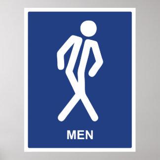 Consiguió ir (los hombres) poster