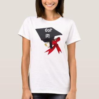 CONSIGUIÓ MI camiseta del GRADUADO del DIPLOMA