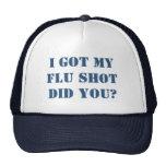 Consiguió mi vacuna contra la gripe gorro de camionero