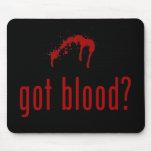 """""""Consiguió sangre?"""" mousepad Tapete De Ratones"""