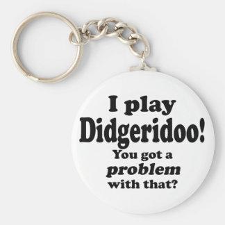Consiguió un problema con ese Didgeridoo Llaveros Personalizados