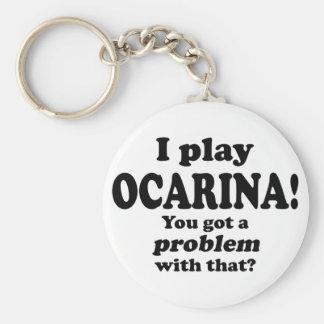 Consiguió un problema con ese Ocarina Llaveros Personalizados
