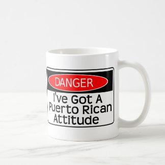 consiguió una actitud tazas de café