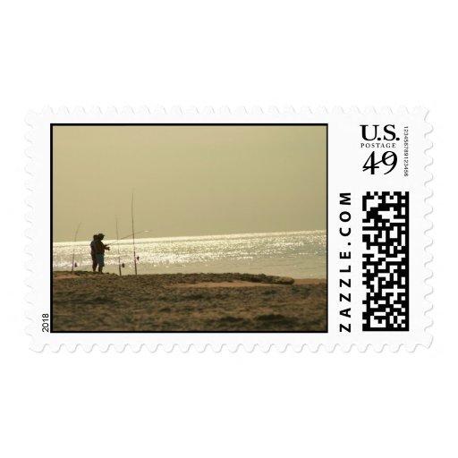 Consiguió una mordedura sello postal