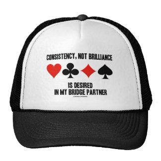 Consistency, Not Brilliance Desired In Bridge Trucker Hat