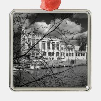 Consistorio de York en el río Ouse Ornamentos De Navidad