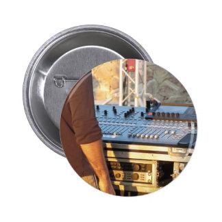 Consola de mezcla audio profesional pin redondo de 2 pulgadas