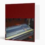 consola de mezcla audio - tablero sano