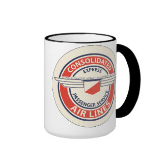 Consolidated Airlines Logo Mugs