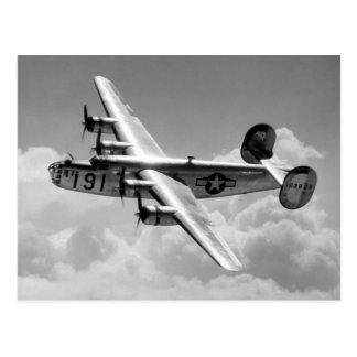 Consolidated B-24 Liberator Postcard
