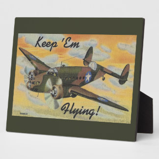 Consolidated B-24 Liberator World War II Vintage Plaque