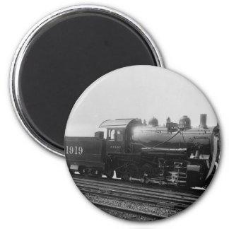 Consolidation 2-8-0 Vintage Steam Engine Train Magnet