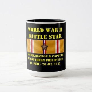 Consolidation & Capture Of Southern Philippines Two-Tone Coffee Mug