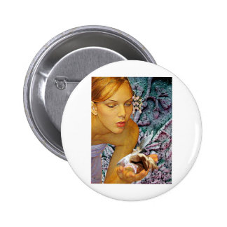 CONSOLING A FAE FRIEND.jpg Pinback Buttons