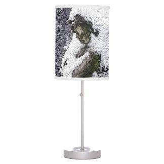 Consoling Angel • Cherub Desk Lamp