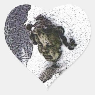 Consoling Angel • Cherub Heart Sticker
